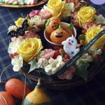 ハロウィンリースならこれ!フラワーキッチンのおしゃれなケーキアレンジ♪