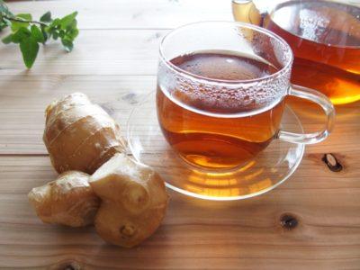 風邪予防に効く生姜紅茶