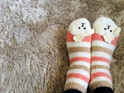 冷え性の女性の冷え取り靴下