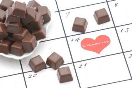 バレンタインに贈るチョコレート