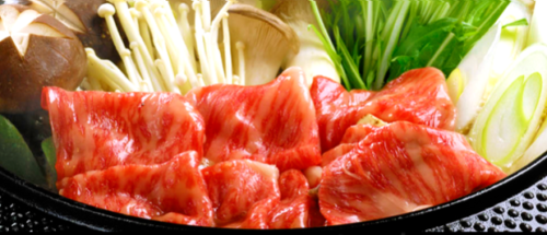 たわら屋すき焼き高級牛肉