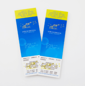 スプリングブルック天文台の入場チケット