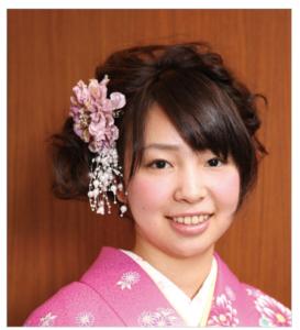 袴髪形ショート